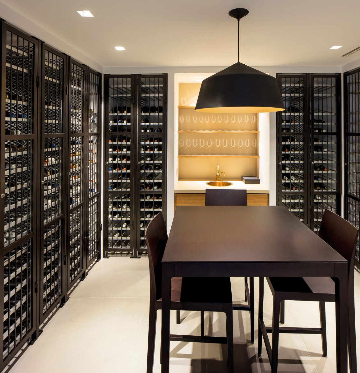 A private wine cellar